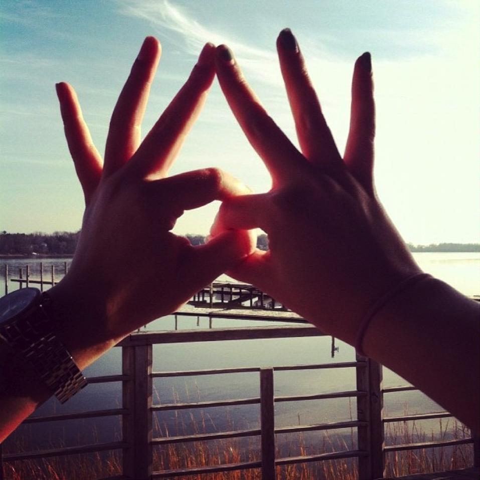 Delta Zeta Hand Sign |...